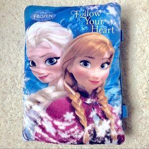 Frozen follow your heart cloth book